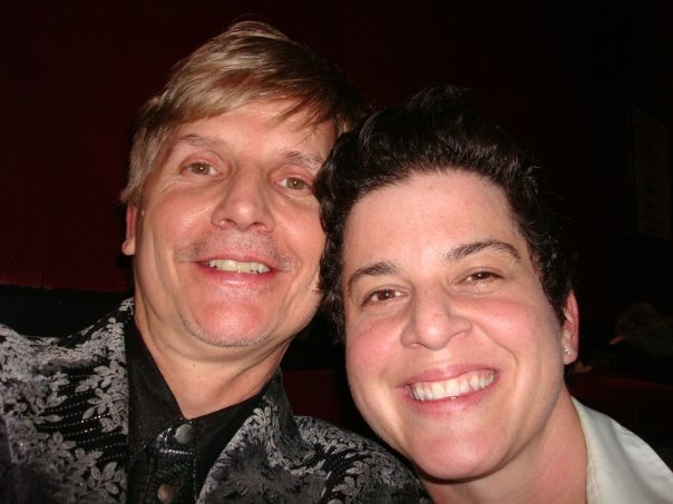 with MTV/LOGO comedy star and old INDIGO ETHERIDGE bandmate Julie Goldman