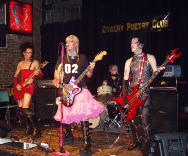 Fist girl rock band #15